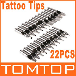 Wholesale Pro Sizes Stainless Steel Tattoo Neddle Tips Dropshipping
