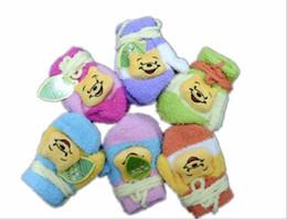 Wholesale new Fashion Gloves Children Mittens Kids Coral Fleece Gloves Winter Mittens Kids Gloves Girls Gloves