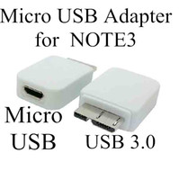 Wholesale Note USB to pin Femail to Micro USB pin Male adapter for Samsung Galaxy Note III N9000 N9002 N9005 N9006 N9008
