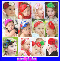 Headbands Cotton Patchwork BABY Girl's Hair Headbands girls hair clips ornaments babys flower Headbands Childrens Hair Accessories 1193531077 ty c