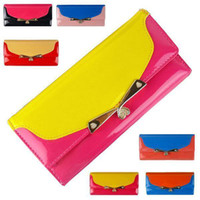 Wholesale smileseller2010 DP177 New Women Girl Korea Style Candy Color Handbags Purses Lady Bag Wallets
