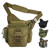 Wholesale utility Molle Tactical Utility Shoulder Backpack Bag SLR Camera Bag Pouch RucksacksHB123