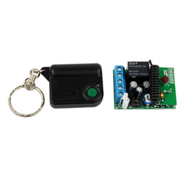 Wholesale RF Wireless Remote Control V Channels Relays Receiver Controller Coding Type ZAB PC MHz New F3011B