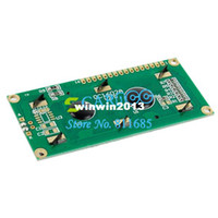 Wholesale LCD Display Module x2 HD44780 Character LCM Blue Blacklight TK0347