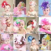 Headbands Cotton Geometric BABY Girl's Hair Headbands girls hair clips ornaments babys flower Headbands Childrens Hair Accessories 1289737502 ty c