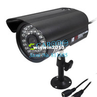 Wholesale 36 LED Color CCTV IR Day Night Vision Digital CMOS Video Camera Black