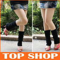Wholesale Leg Warmers New Winter Fashion Adult Socks Loose Piles Of Wool Boot Socks Boot Covers