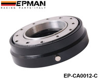 Wholesale EPMAN Hot Selliing Black Thin Version Steering Wheel Quick Release For Universal Default color is Black EP CA0012 C Black