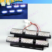 Wholesale 5pcs New LED flash light Strobe Light amber car truck boat security