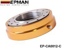 Wholesale EPMAN Hot Selliing Thin Version Steering Wheel Quick Release universal CAR Default color is Golden EP CA0012 C Golden