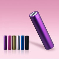 Wholesale Cheap mah power bank aluminum cylinder power bank mini universal power bank portable mobile phone chargers