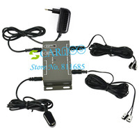 Wholesale 4pcs Hot Selling Emitters Receiver IR Remote Extender Infrared Repeater Emitter Repeater Hidden System Kit TK0148