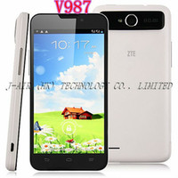 """5.0 Android 1G cheap newOriginal ZTE V987 Android 4.1 Android Phone MT6589 Quad Core 5.0"""" IPS HD Screen GSM WCDMA 3G 2500mAh Multi Language Russian"""
