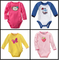 jumping beans baby clothing - Jumping Beans Baby Clothes Baby bodysuits Toddler Rompers Long Sleeve Overalls Jumpsuits Top Quality B24