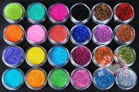 Wholesale 2015 New Beautiful Hot Rhinestones Colors Nail Powders Painting Manicure Mix Colors Choose HXK