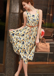 Wholesale The new dress chiffon skirt pleated skirt