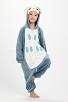 Wholesale Flannel Owl Pajamas Unisex Children s Kigurumi Onesies Cosplay Costumes Animal Pajamas Christmas Gift For Kid Cartoon Cute Pyjamas Children