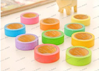 Wholesale LLFA4137 New high quality bright candy solid color washi masking tape washi tape paper tape