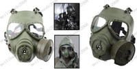 Wholesale M04 Skull Perspiration Fog proof Fan GAS Mask for Airsoft Survival War Game Movie Prop Cosplay Face Protector MYY8145