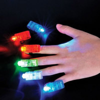 Wholesale 4 x LED Finger Fun Gadget Finger Beams LED Light Stocking Filler Party Gift