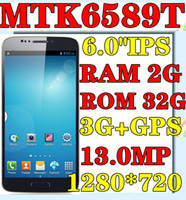 "Hero 6.0 Android 2014 NEW unlock position NOTE 3 N9000 N9002 MTK6589T Quad Core 1.5GHz 1280*720 IPS 6.0""IPS 3G WIFI GPS pk lenovo k900"