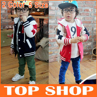 Wholesale kids Jackets amp Coats Spring Models Boy Sweater Coat Tide Treasure Hooded Long Sleeve Jackets Color Size Suitable For Y Boys Jacket