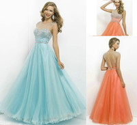 Reference Images Sweetheart Tulle 2014 Sheer Open Back Ball Gown Prom Dresses Sweetheart Neckline Tulle Beaded Sequined Full-Length Long Evening Party Skirt 5306