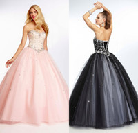 Wholesale BH Hot Sale Evening Dresses Elegant Strapless Sequins Sleeveless Lace up Floor length Formal Prom Gowns Customed Made