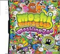 Wholesale Moshi Monsters Moshling Zoo games for DS DSL DS console save saled box free DHL