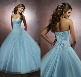 Wholesale 2014 New Style Evening Prom Dress Ball Gown Sweetheart Crystal Beaded Bolero Jacket Tulle Floor Length Quinceanera Dresses DL1309930