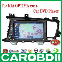 Wholesale Android KIA OPTIMA Car DVD Player With GPS G Wifi Hotspot RDS Analong TV bluetooth OPTIMA KIA Car DVD
