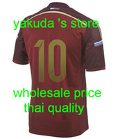 Thai Quality Customized Russia #10 Arshavin_2014 World Cup H...