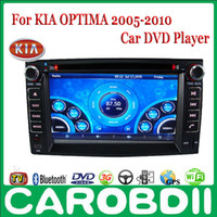 Wholesale Android KIA OPTIMA Car DVD Player With GPS G Radio Wifi Hotspot RDS Analong TV bluetooth OPTIMA KIA Car DVD