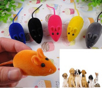 Wholesale Cute Beautiful Funny Fashion New Bright Coloured Little Mouse Toys For Pets Sound