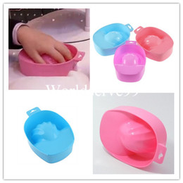 Wholesale Nail Art Tips Soak Bowl Tray Treatment Remover Manicure UV Gel Acrylic Nail Art Tools
