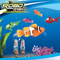 Wholesale Novelty Robo Fish Magical Turbot Fish Christmas Magic Toys Gifts for kids children