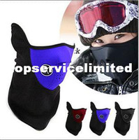 Wholesale Warm Neoprene Winter Ski Mask Snowboard Motorcycle Bike Soft Red Black Blue