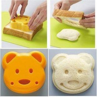 Disposable die cutting machine - Sandwich cake mold maker DIY die cutting machine process bear shaped free delivery