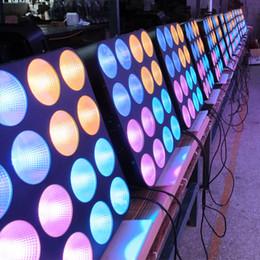 Road case 4 Pack Led Blinder Light Matrix light 16pcs 30w RGB 3in1 COB led pro led stage Lighting