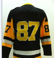 Team Classic Vintage Jersey Black Throwback Ice Hockey jerse...