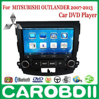 Wholesale MITSUBISHI OUTLANDER Android Car DVD GPS Radio Player TV G Wifi FM Russian menu