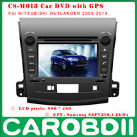 Wholesale Android Car DVD MITSUBISHI OUTLANDER With analog TV G GPS wifi radio For MITSUBISHI OUTLANDER Car DVD Player