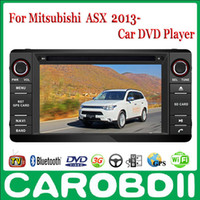Wholesale MITSUBISHI ASX Pure Android Car DVD GPS Radio Player With TV G Wifi FM BT OBD2 Functions Russian menu