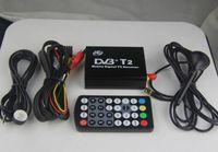 Receivers DVB-T  DVB T2 H.264 MPEG4 Mobile Digital TV Box External USB DVB-T2 Car TV Receiver Russian&Europe&Southeast Asia Free shipping