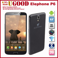 Wholesale New Elephone P6 Mega I9200 MTK6589T Quad Core Ghz G RAM G ROM Android Os Inch Screen Mp Camera Freeshipping
