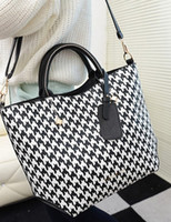 Wholesale Black PU Leather Beautiful Women s Tote Bag handbag r57 u14 AzH