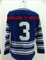 2014 Winter Classic 3rd Blue Jersey Ice Hockey jerseys #3 Ph...