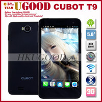 5.0 Android 1G New 5 Inch FHD Screen Cubot T9 MTK6589T 1.5GHz Android phone 1GB RAM 16GB ROM 13.0Mp Camera 3G Multi Language Free Ship