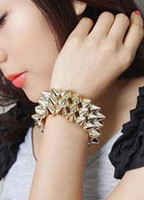Wholesale Chic Spikes Women s Bracelet r84 u11 tCw