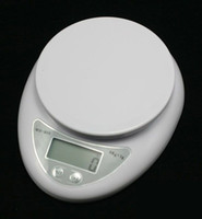 Digital scale 1g~5000g  freeshipping Brand new 5000g 1g 5kg Food Diet Postal Kitchen Digital Scale scales balance weight weighting LED electronic wh-b05